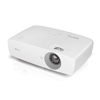 明基(BenQ) YP1024 家用 全高清 投影机(DLP芯片 2000ANSI流明 1080P 内置音响 手机同屏)