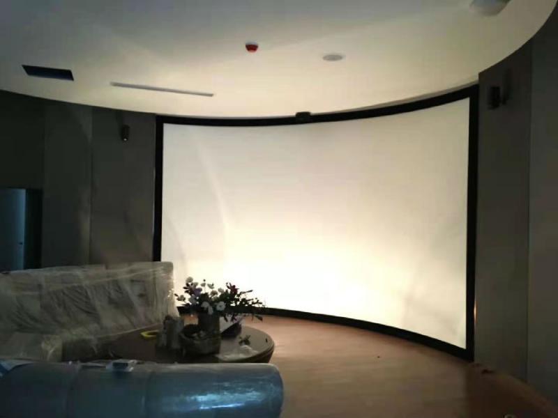 大尺寸弧形屏幕+爱普